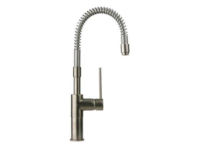 La Toscana 78PW558 Elba Commercial Kitchen Faucet - Brushed Nickel -  Newegg.com