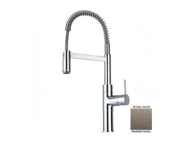 La Toscana 78PW556 Elba Commercial Kitchen Faucet - Brushed Nickel -  Newegg.com