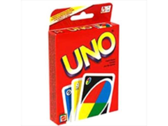Mattel 41001 Uno Card Game Board Game - Newegg com