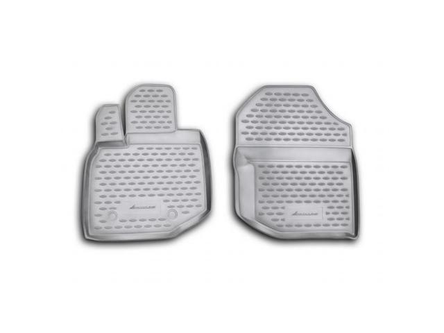Novline 2009 2013 Honda Fit Black Floor Mats