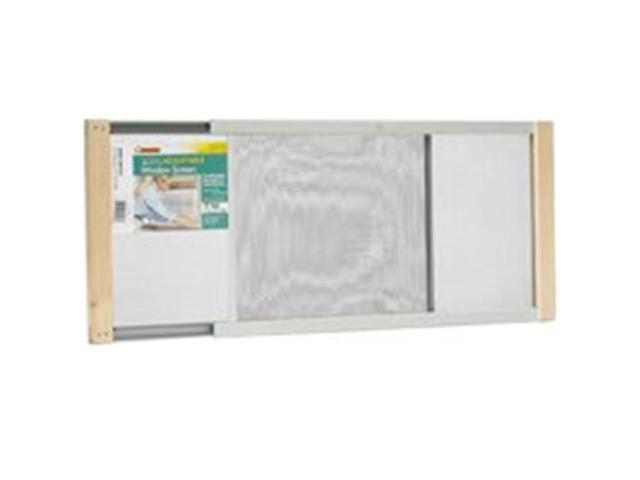 Thermwell Products 1532522 Window Screen Adjustable 10 x 37 In.