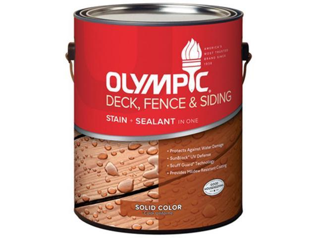 Olympic 53201a 01 Gallon White Tint Base Deck Fence Siding Stain