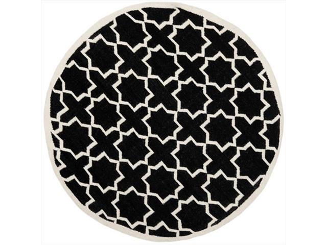 Safavieh Dhu549l 6r 6 Ft X 6 Ft Round Contemporary Dhurries