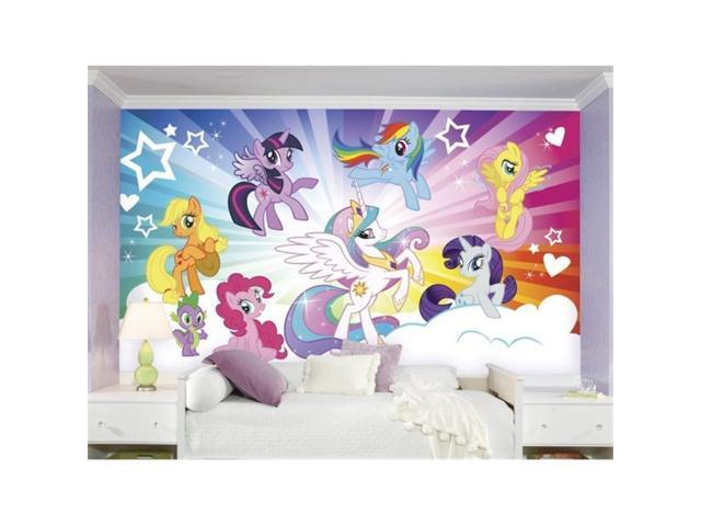 Roommates Jl1335m Ultra Strippable My Little Pony Cloud Xl Chair