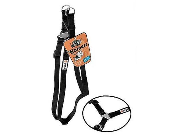 gogo 15072 extra small 0 38 in  black harness