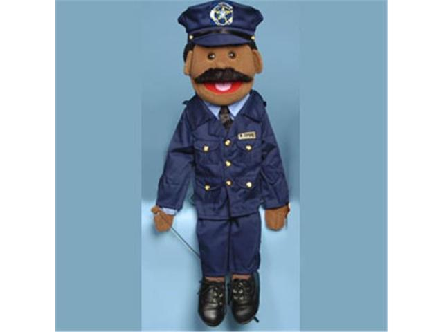 Sunny Toys Gs4308b 28 In Ethnic Dad Policeman Full Body Puppet