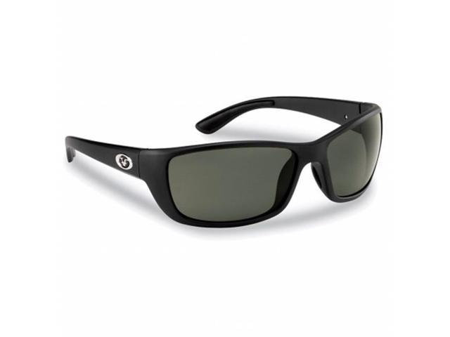 Flying Fisherman 7372BS Cay Sal Polarized Sunglasses, Matte Black Frames  With Smoke Lenses - Newegg.com