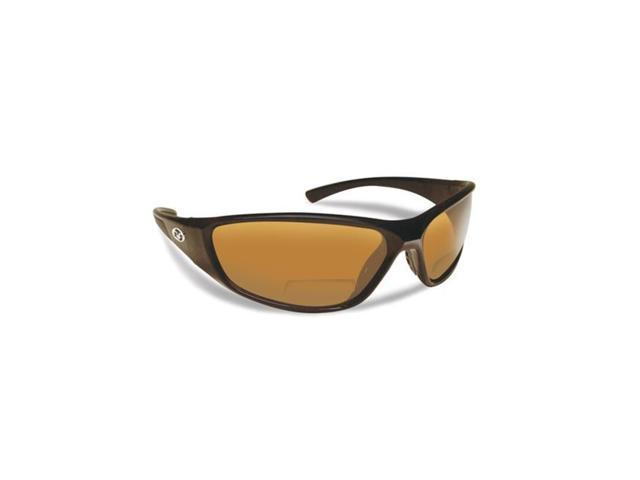 Flying Fisherman 7302BA-200 Falcon Polarized Sunglasses, Black Frames With  Amber Reader Plus 2.00 Lenses - Newegg.com