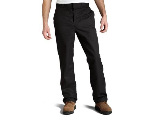 Dickies 8038bk 30 32 Mens Cell Phone Pocket Work Pant Black 30