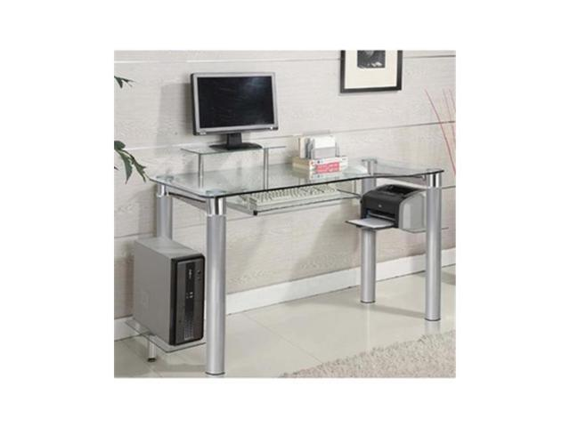 innovex home products dp1265g60 saturn computer desk. Black Bedroom Furniture Sets. Home Design Ideas
