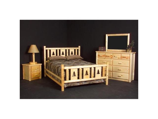 Delicieux Viking Log Furniture NRPPH L02 Montana Conventional Headboard Queen In  Honey Pine