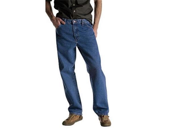500aeefbc97 Dickies 15293SNB 50 30 Mens Relaxed Fit workhorse Double Knee Jean ...
