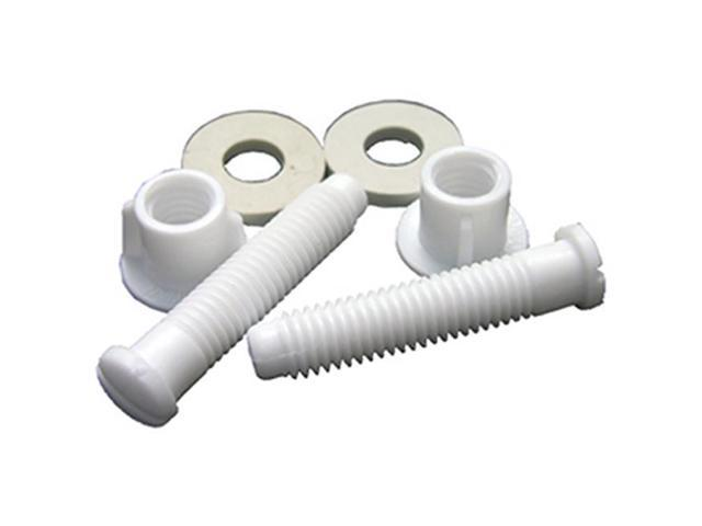 Superb Larsen Supply 14 1067 0 44 X 1 75 In Plastic Toilet Seat Hinge Bolt With Nuts Pack Of 6 Newegg Com Gamerscity Chair Design For Home Gamerscityorg