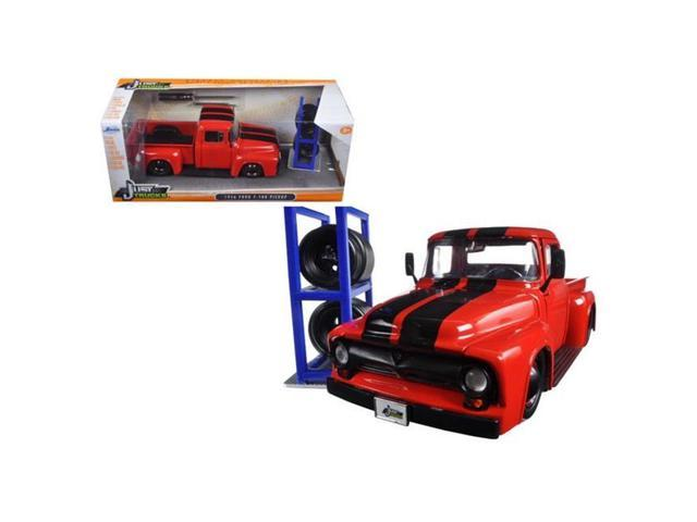 Jada   Ford F  Red Pickup Truck Just Trucks With Extra Wheels