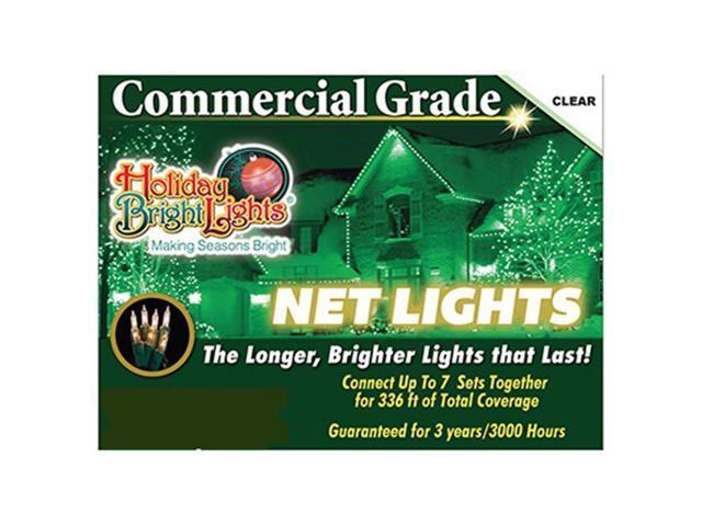 Holiday Bright Lights 105BX-NET-CL 150 Light Clear Net Light Set -  Newegg com