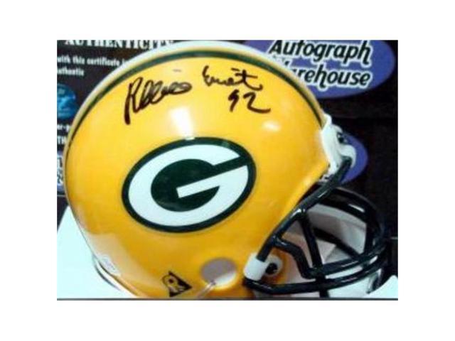 huge discount 961da 277ab Autograph Warehouse 345223 Reggie White Signed Mini Helmet - Green Bay  Packers Football Hall of Famer Triumph Hologram - Newegg.com