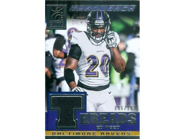 huge selection of c3ddc abfdb Autograph Warehouse 343605 Ed Reed Player Worn Jersey Patch Football Card -  Baltimore Ravens 2014 Panini Elite Throwback No. 3 - Newegg.com