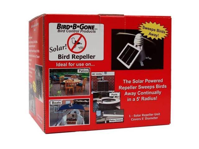 Arett Sales B44 MMRPSLR1 Solar Bird Repeller - Newegg com