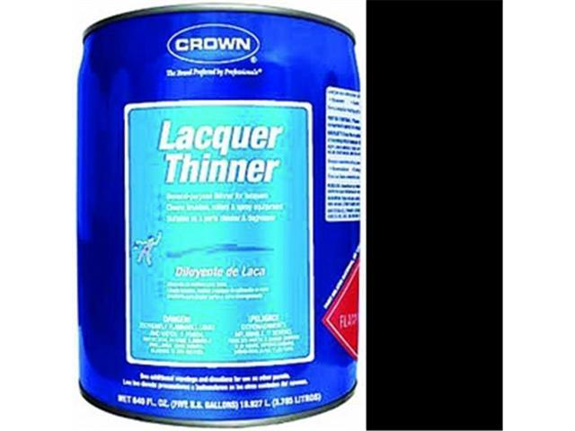 Crown Packaging CR PLT M 05 Premium Lacquer Thinner - 5 Gallon - Newegg com
