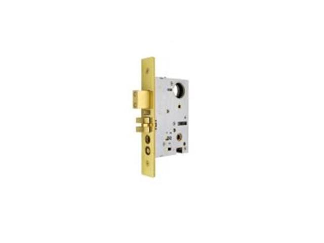 Baldwin 6321190RLS 2 5 in  Satin Black Right Handed Lever Strength Mortise  Lock with Backset Less Cylinder - Newegg com