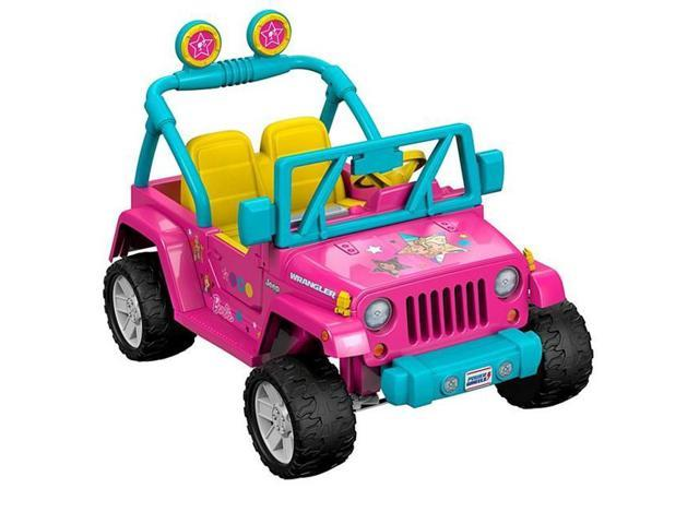 Fisher-Price FFR86 Power Wheels Barbie Jeep Wrangler - Newegg.comNewegg.com
