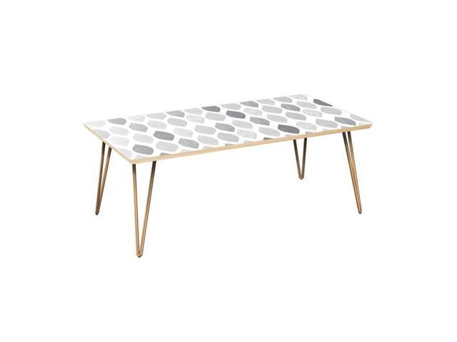 Nyekoncept 12032885 42 X 22 15 75 In Brixton Hairpin Coffee Table Nordic Clouds Natural Br