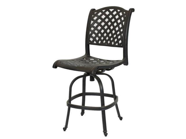 Astonishing Comfort Care Cc03B Cast Aluminum Armless Weave Outdoor Barstool 50 6 X 22 8 X 27 In Set Of 2 Newegg Com Squirreltailoven Fun Painted Chair Ideas Images Squirreltailovenorg