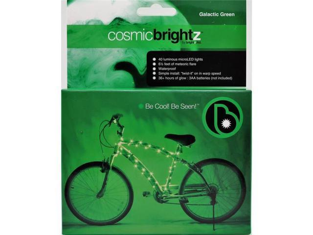 CosmicBrightz Bicycle Frame Light LED Bicycle Light Kit Multicolor