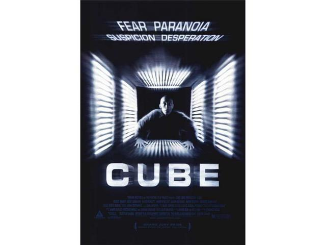 Pop Culture Graphics MOVEI3610 Cube Movie Poster Print, 27 x 40 ...