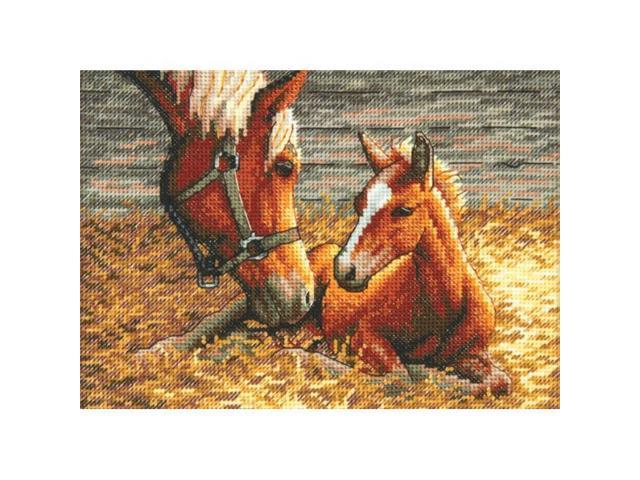 Dimensions Gold Collection Petite Good Morning Counted Cross Stitch Kit-7X5 18 Count