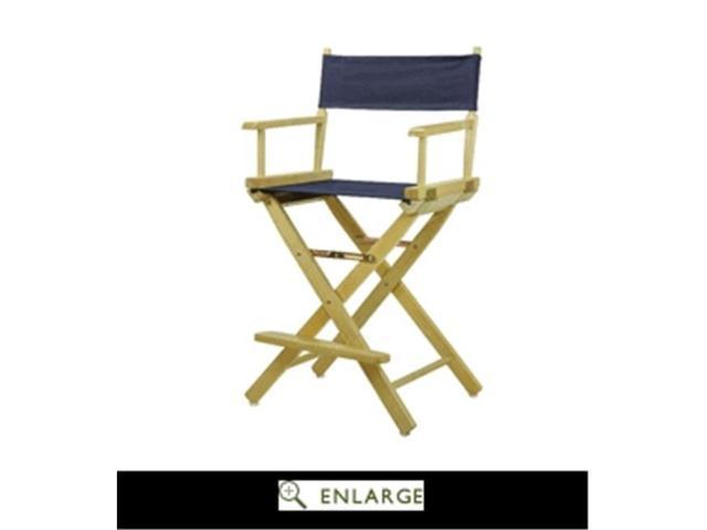 Surprising Casual Home 220 00 021 10 24 In Directors Chair Natural Frame With Navy Blue Canvas Newegg Com Unemploymentrelief Wooden Chair Designs For Living Room Unemploymentrelieforg