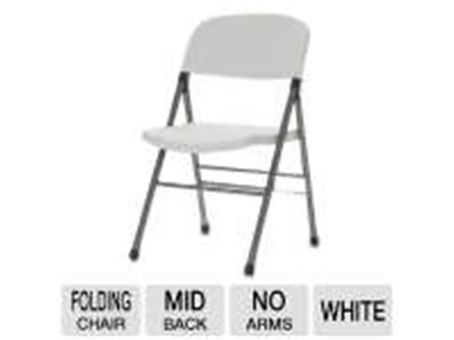 Superb Cosco 14869Wsp4 Folding Chair Lightweight Commercial Grade White Pack Of 4 Newegg Com Machost Co Dining Chair Design Ideas Machostcouk