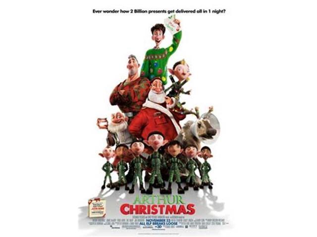 Arthur Christmas Poster.Posterazzi Movgb40884 Arthur Christmas Movie Poster 11 X 17 In Newegg Com