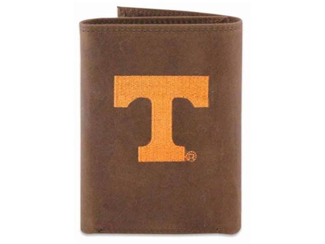 d442c82f83 ZeppelinProducts UTN-IWE2-CRZH-LBR Tennessee Trifold Embroidered Leather  Wallet - Newegg.ca