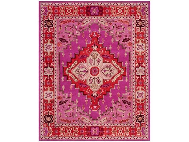 Safavieh Blg545b 8 Bellagio Hand Tufted Large Rectangle Area Rug Red Pink 8 X 10 Ft Newegg Com