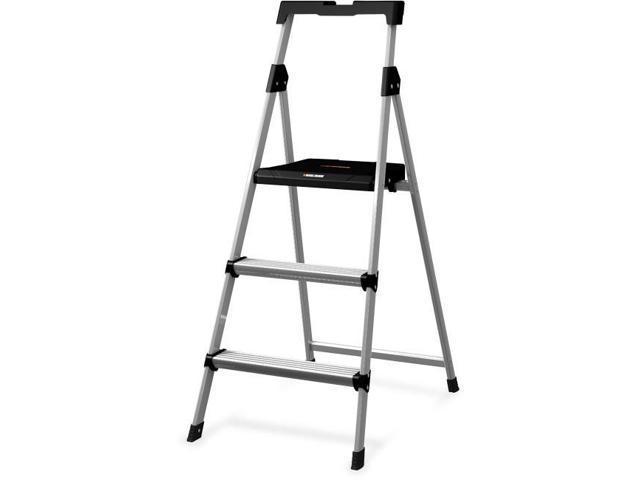 Wondrous Louisville Ladder Dadbxl226003S 3 Ft Step Stool Aluminium Ladder B L Pabps2019 Chair Design Images Pabps2019Com