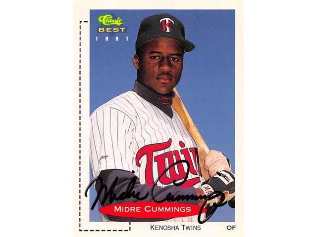 Autograph Warehouse 465619 Midre Cummings Autographed Kenosha Twins Baseball Card 1991 Classic Best Rookie No 318 Neweggcom