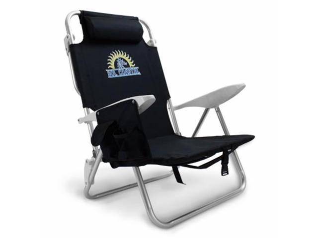 Fantastic Brybelly Holdings Sbea 503 4 Position Folding Beach Chair Black Newegg Com Home Interior And Landscaping Ferensignezvosmurscom