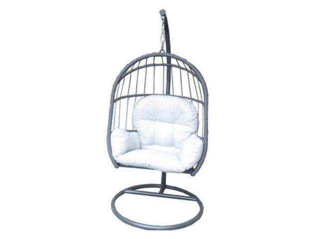 Awesome Westfield Outdoor 227706 Folding Hanging Egg Chair Extra Large 76 X 36 X 37 In Caraccident5 Cool Chair Designs And Ideas Caraccident5Info