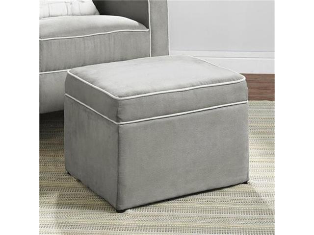 Stupendous Baby Relax Da1404So Mg Abby Storage Ottoman Gray Evergreenethics Interior Chair Design Evergreenethicsorg