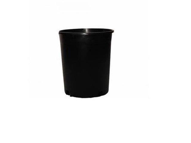 Nursery Supplies 13021000 10 In Poly Tainer Injection Molded Pot Pt4 Black