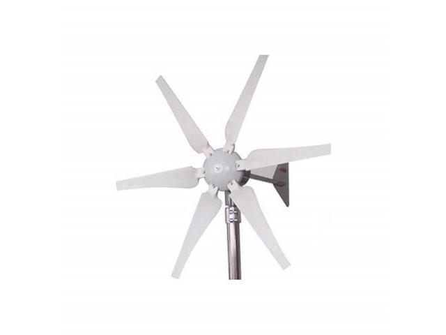 Aleko WG410-UNB 12-24V 6-Blade 400W Wind Generator with Integrated  Controller - Newegg com