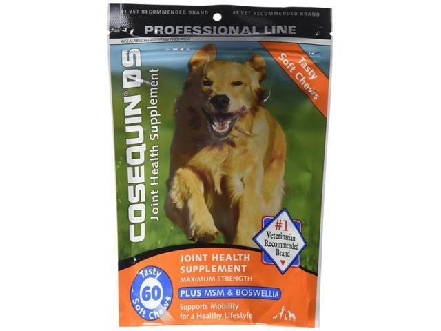 Nutramax Laboratories 015nm Cosqsc60 Msm Cosequin Ds Plus Msm For Dogs Soft Chews Tablet 60 Count Neweggcom