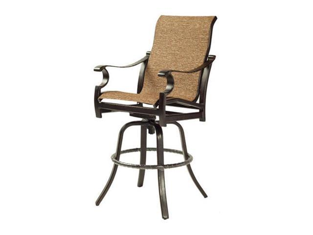 Outstanding Sunjoy Group 243335 Marbella Counter Height Stackable Sling Chair 46 10 X 31 13 X 21 87 In Andrewgaddart Wooden Chair Designs For Living Room Andrewgaddartcom