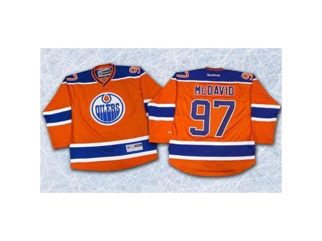 premium selection 6419d 0dfaf Autograph Authentic MCDC12400C Connor McDavid Edmonton Oilers Autographed  Orange Reebok Premier Hockey Jersey - Newegg.com
