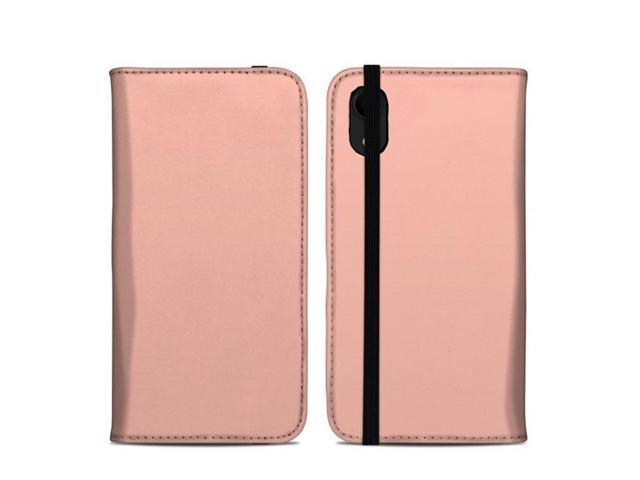 DecalGirl AIPXRFC-SS-PCH Apple iPhone XR Folio Case - Solid State Peach -  Newegg com