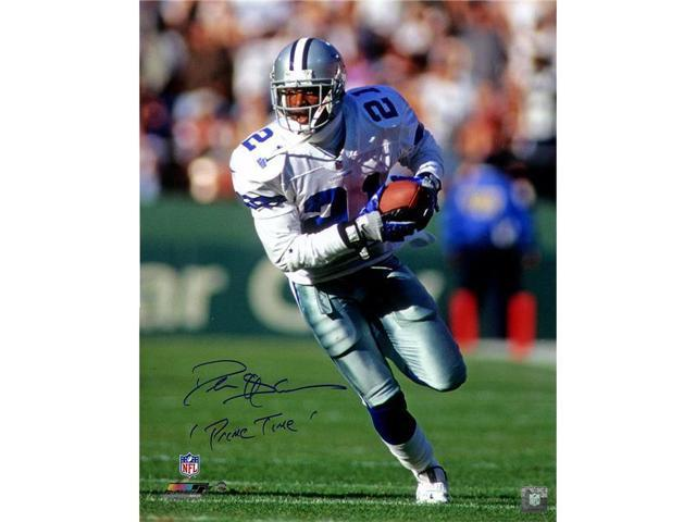 new product fc21a a4654 Steiner Sports SANDPHS016022 Deion Sanders Signed Dallas Cowboys 16 x 20  in. Photo with Primetime Insc - Newegg.com