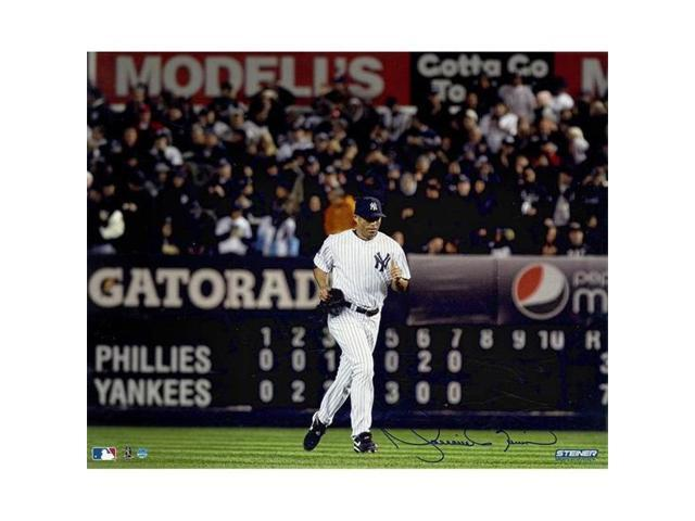 new concept f1a39 2ae36 Steiner Sports RIVEPHS016091 Mariano Rivera Signed Yankees Home Jersey Run  Onto The Field Horizontal 16 x 20 in. Photo Signed in Blue - Newegg.com