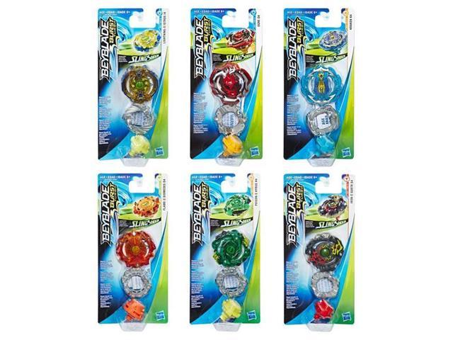 Hasbro HSBE4602 Beyblade Burst Turbo Slingshock Single Tops Assortment,  Pack of 12 - Newegg ca
