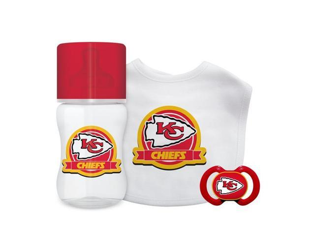 huge selection of 2d0dc 82544 Baby Fanatic 1153403138 Kansas City Chiefs Baby Gift Set - 3 Piece -  Newegg.com